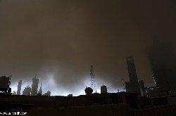 موجة غبار تضرب محافظة جدة ومنطقة مكة المكرمة