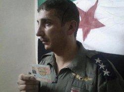 طيار سوري أسير: الجيش الحر عالجني .. والنظام تخلى عني