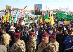 """سنة العراق يحتشدون اليوم ضد """"المالكي"""" ويهددون بقتال الحكومة"""