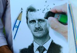 الأسد تعهد لنتنياهو بالحفاظ هدوء assadisrael_0-thumb2.jpg