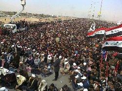 كبير مشايخ الأنبار يدعو الحكومة للاستجابة لمطالب المحتجين