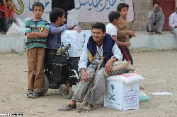 قافلة مساعدات إنسانية تنطلق السعودية ksahum-thumb2.jpg