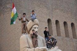كردية تنظم إضرابًا للاحتجاج سياسة kurddd_0-thumb2.jpg