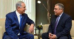 نتنياهو يجتمع بالسفير المصري القدس netanegypt-thumb2.jpg