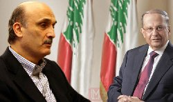 ���� ���� ����� samir-geagea-and-michel-aoun-thumb2.jpg