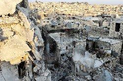 طيران الأسد يقصف حلب بالبراميل المتفجرة