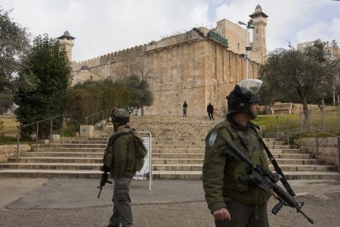 الأوقاف الفلسطينية: الاحتلال الأذان بالمسجد ibrahimi.jpg?itok=CMLyUpHr